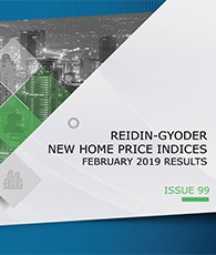 GYODER has announced the February 2019 Report of the New Home Price Index.