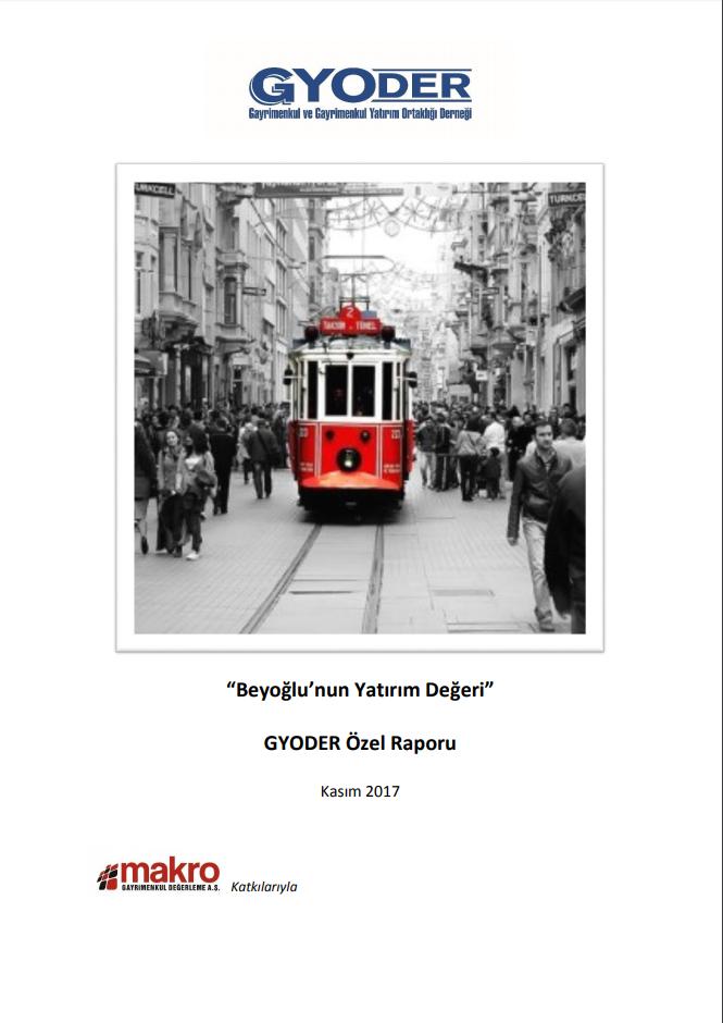 Beyoğlu'nun Yatırım Değeri Araştırma Raporu