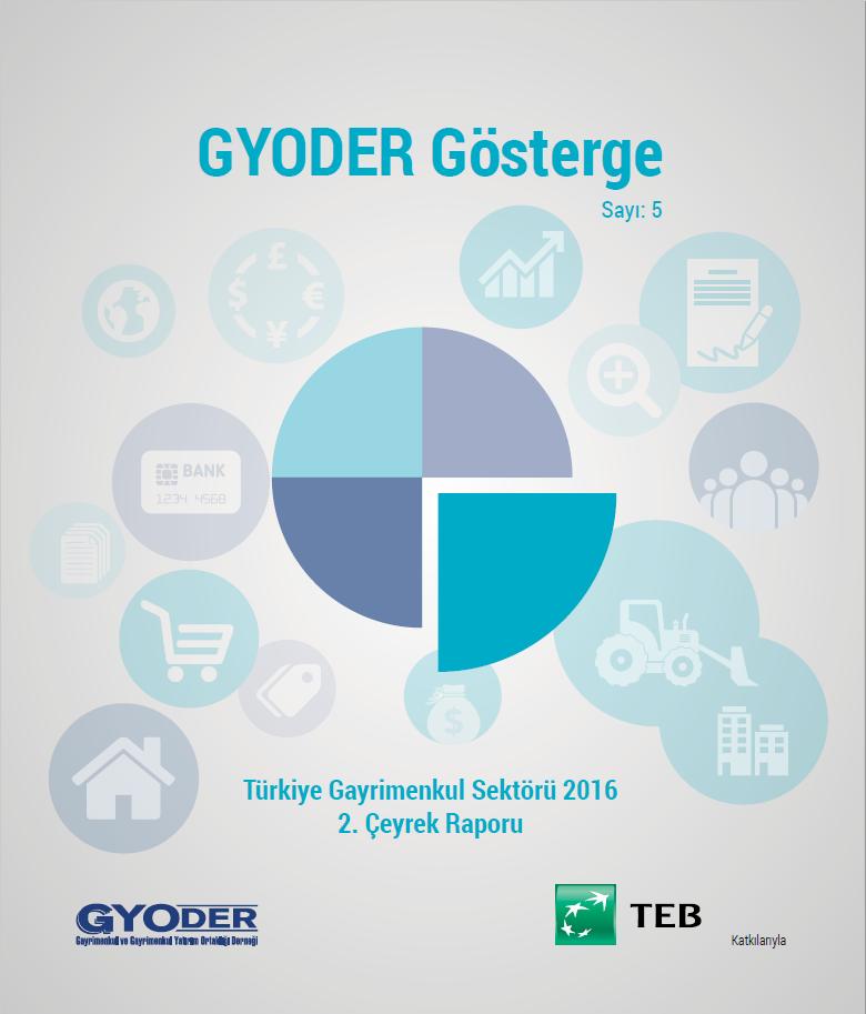GYODER Gösterge Türkiye Gayrimenkul Sektörü 2016 2. Çeyrek Raporu