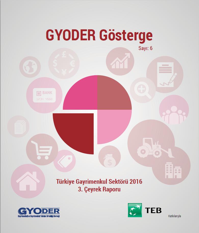 GYODER Gösterge Türkiye Gayrimenkul Sektörü 2016 3. Çeyrek Raporu