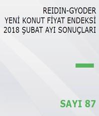 REIDIN-GYODER Yeni Konut Fiyat Endeksi 2018 Şubat Ayı Sonuçları