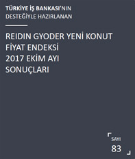 REIDIN-GYODER Yeni Konut Fiyat Endeksi 2017 Ekim Ayı Sonuçları