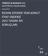 REIDIN-GYODER Yeni Konut Fiyat Endeksi 2017 Kasım Ayı Sonuçları