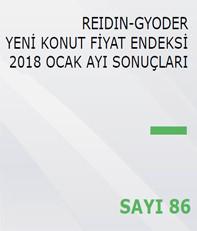 REIDIN-GYODER Yeni Konut Fiyat Endeksi 2018 Ocak Ayı Sonuçları