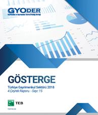 GYODER Gösterge Türkiye Gayrimenkul Sektörü 4. Çeyrek 2018 Raporu