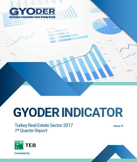 GYODER GÖSTERGE Türkiye Gayrimenkul Sektörü 1. Çeyrek 2017