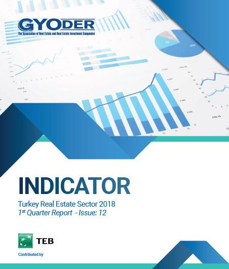 GYODER Indicator, Turkish Real Estate Sector 2018 1st Quarter Report