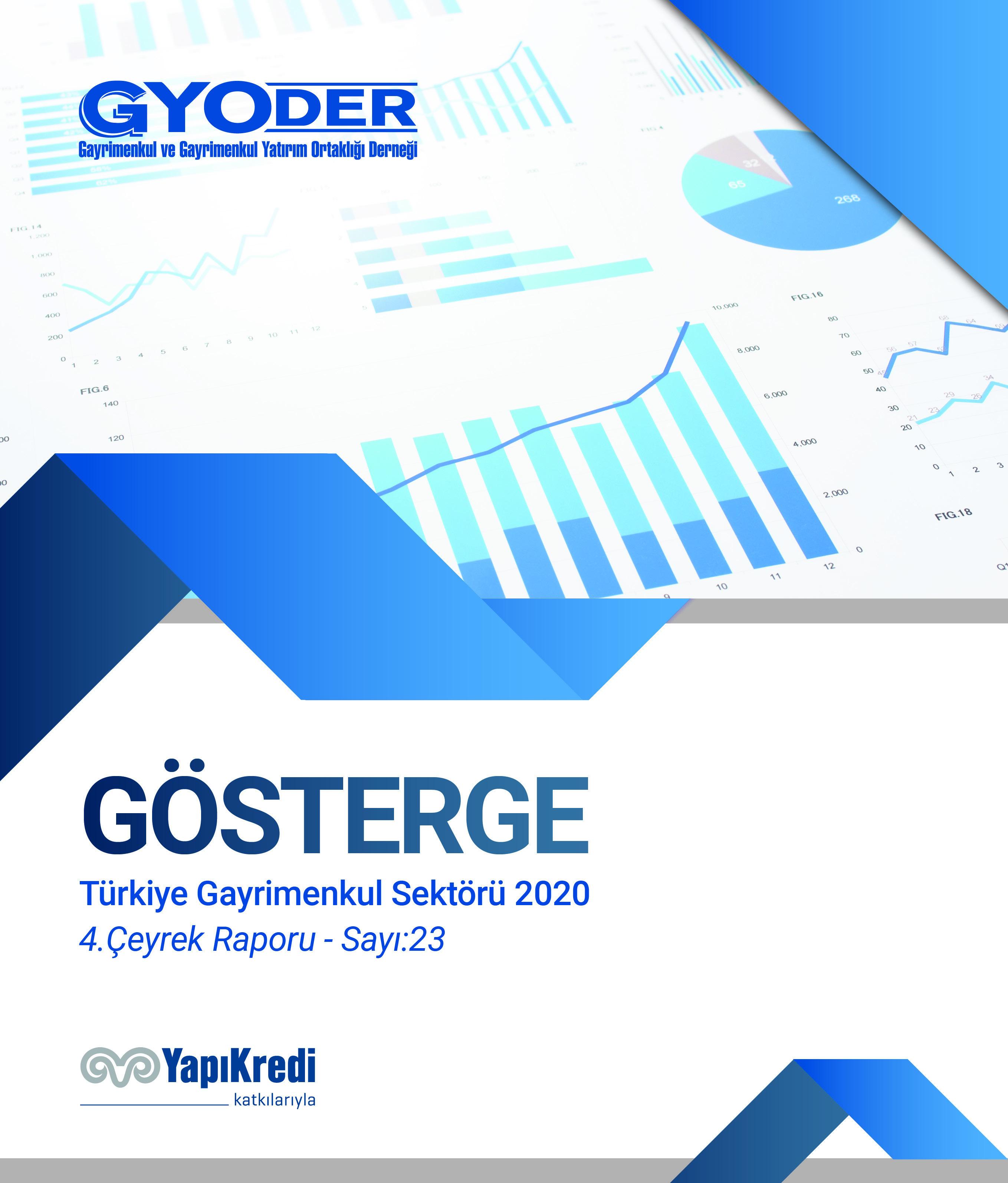 GYODER Gösterge 2020 Yılı Türkiye Gayrimenkul Sektörü 4. Çeyrek Raporu