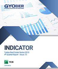 GYODER Indicator, Turkish Real Estate Sector 2018 4th Quarter Report