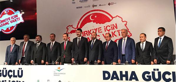 Türkiye İçin Kazanç Vakti Kampanyası Basın Toplantısı