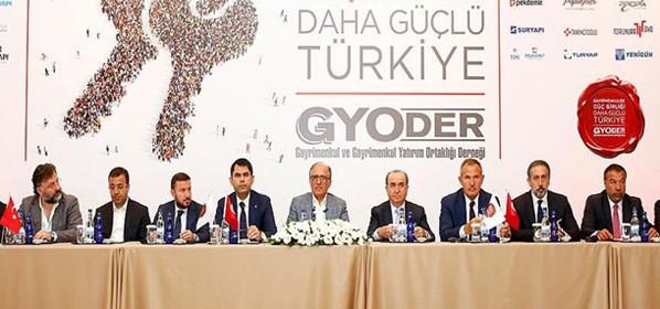 Gayrimenkulde Güç Birliği Daha Güçlü Türkiye Kampanyası Basın Toplantısı