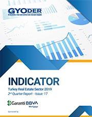 GYODER Indicator, Turkish Real Estate Sector 2019 2st Quarter Report