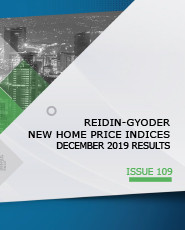 REIDIN-GYODER New Home Price Index: December 2019 Results