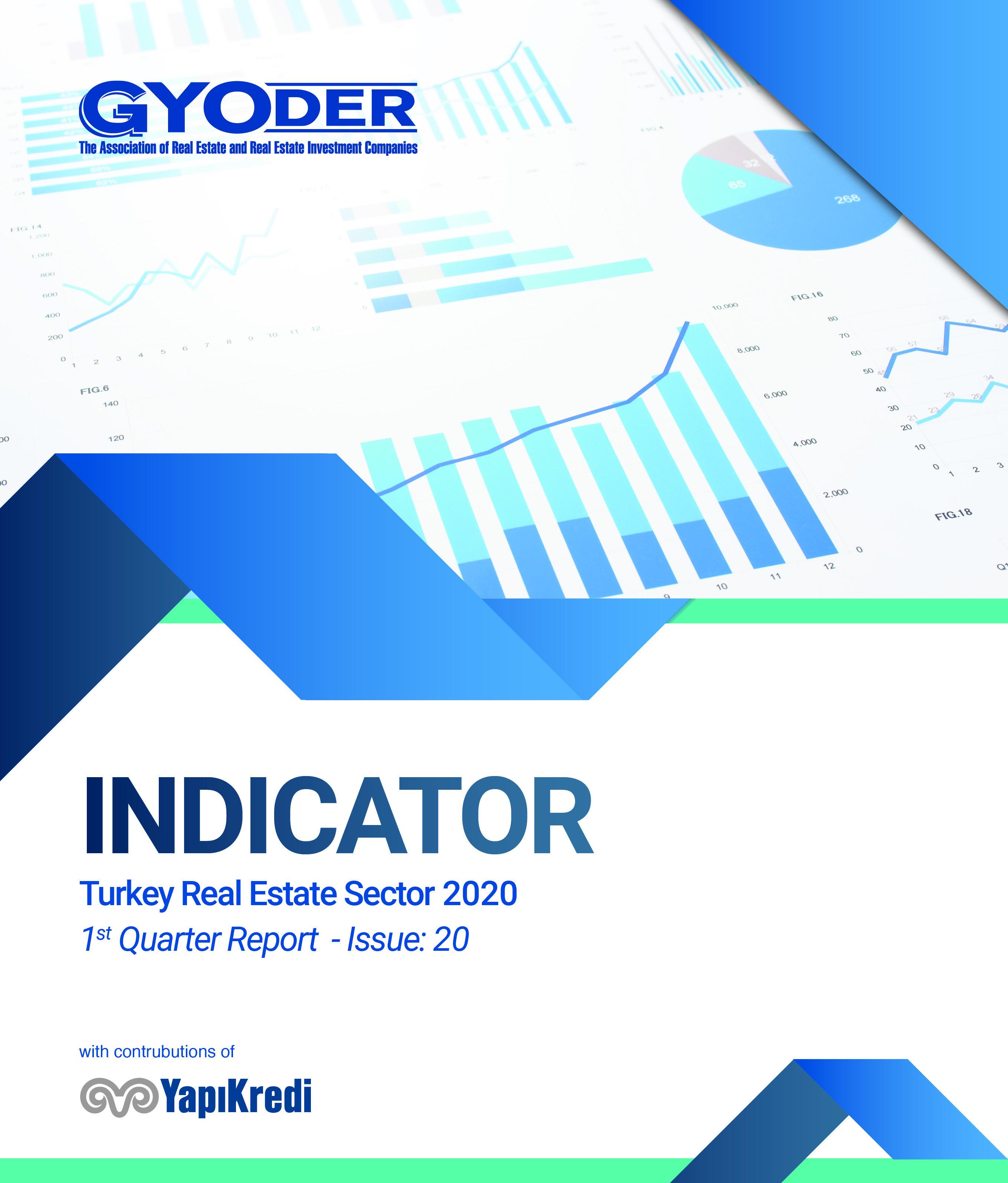 GYODER Indicator, Turkish Real Estate Sector 2020 1st Quarter Report