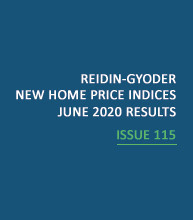 REIDIN-GYODER New Home Price Index: June 2020 Results
