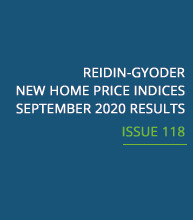 REIDIN-GYODER New Home Price Index: September 2020 Results