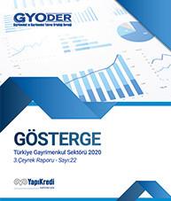 GYODER Gösterge 2020 Yılı Türkiye Gayrimenkul Sektörü 3. Çeyrek Raporu