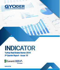 GYODER Indicator, Turkish Real Estate Sector 2019 3rd Quarter Report