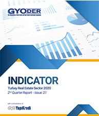 GYODER Indicator, Turkish Real Estate Sector 2020 2st Quarter Report