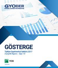 GYODER Gösterge Türkiye Gayrimenkul Sektörü 2017 3. Çeyrek Raporu