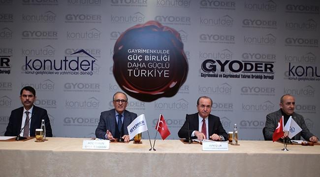 2. Gayrimenkulde Güç Birliği Daha Güçlü Türkiye Kampanyası Basın Toplantısı