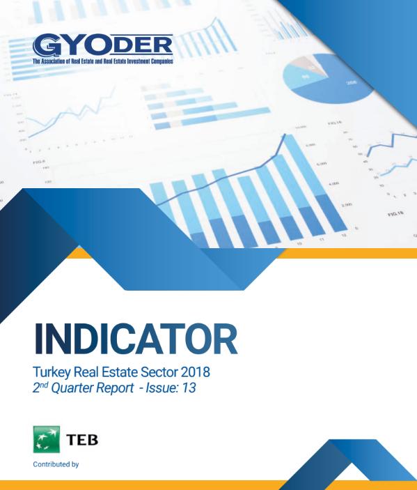 GYODER Indicator, Turkish Real Estate Sector 2018 2nd Quarter Report