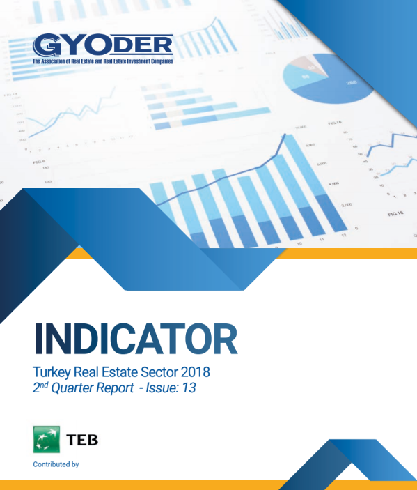 GYODER Indicator, Turkish Real Estate Sector 2018 2nd Quarter Report