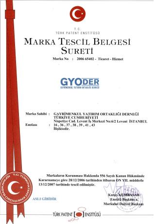 Marka Tescil Belgesi Sureti 2006