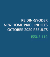 REIDIN-GYODER New Home Price Index: October 2020 Results