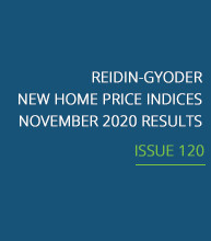 REIDIN-GYODER New Home Price Index: November 2020 Results