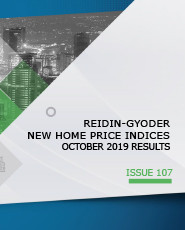 REIDIN-GYODER New Home Price Index: October 2019 Results