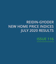 REIDIN-GYODER New Home Price Index: July 2020 Results