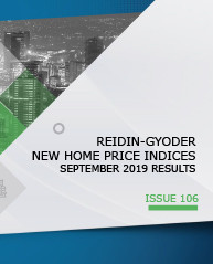 REIDIN-GYODER New Home Price Index: September 2019 Results
