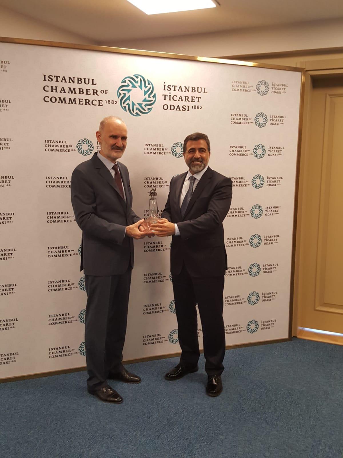 İstanbul Ticaret Odası Başkanı Sn. Şekib Avdagiç ile Görüşme