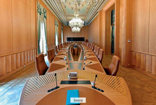 Meeting Hall of the Presidency Council