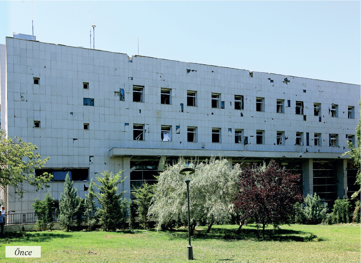 Ziyaretçi Kabul Binası