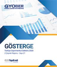 GYODER Gösterge 2020 Yılı Türkiye Gayrimenkul Sektörü 2. Çeyrek Raporu