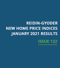 REIDIN-GYODER New Home Price Index: January 2021 Results