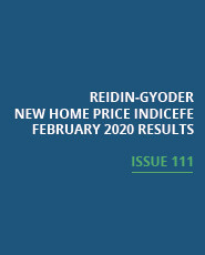 REIDIN-GYODER New Home Price Index: February 2020 Results
