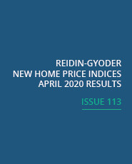 REIDIN-GYODER New Home Price Index: April 2020 Results