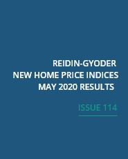REIDIN-GYODER New Home Price Index: May 2020 Results